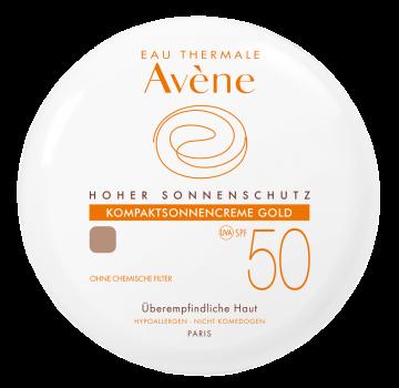 Avene - Mineralische Kompaktsonnencreme SPF 50 Gold 10g