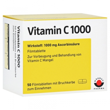 Vitamin C 1000mg Tabletten 50St.
