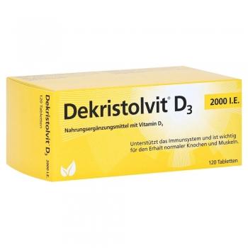 Dekristolvit - D3 2000 I.E. - 120 Tabletten