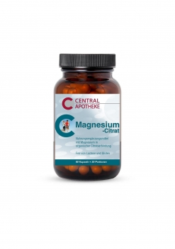 Central - Magnesiumcitrat 60 Kapseln