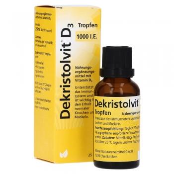 Dekristolvit - D3 1000 I.E. - Tropfen 25ml