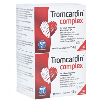 Tromcardin Complex 2x180 Tabletten