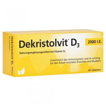 Dekristolvit - D3 2000 I.E. - 60 Tabletten