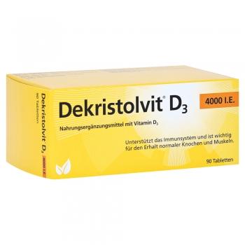 Dekristolvit - D3 4000 I.E. - 90 Tabletten
