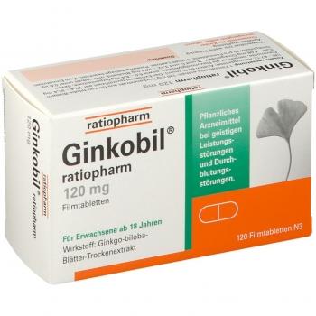 Ginkobil® ratiopharm 120 mg Filmtabletten 120St.