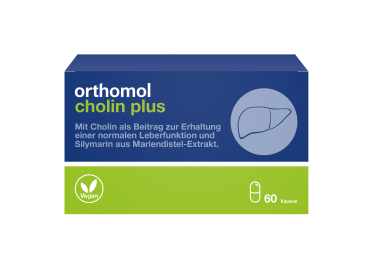 Orthomol - Cholin Plus 60Kps.